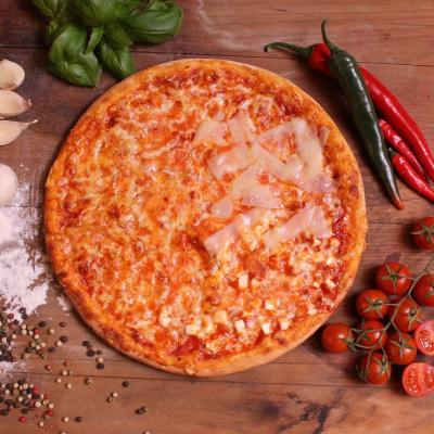 4 sajtos pizza