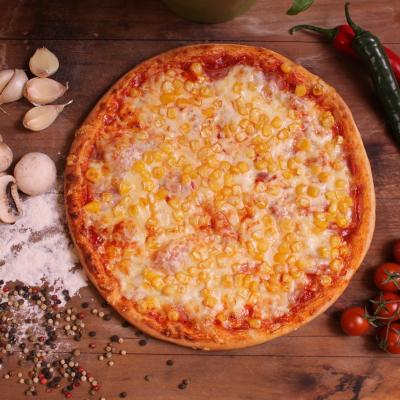 Kukoricás pizza