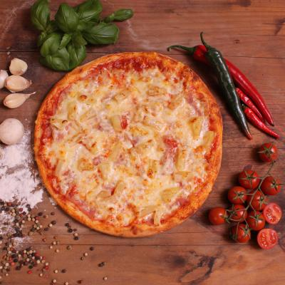 Ananászos pizza