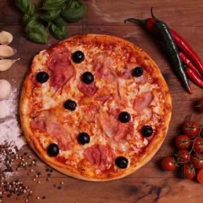 Pármai sonkás pizza