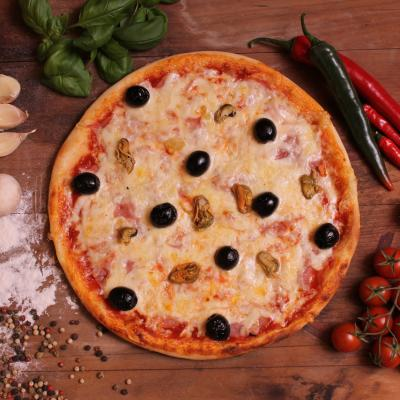 Shell pizza