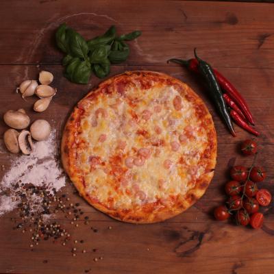 Garnélás pizza