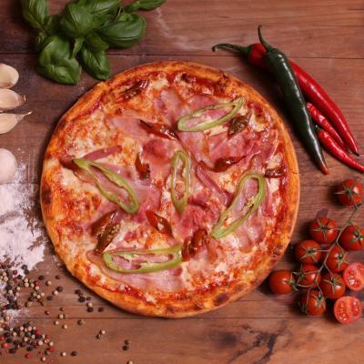 Tűzhányó pizza