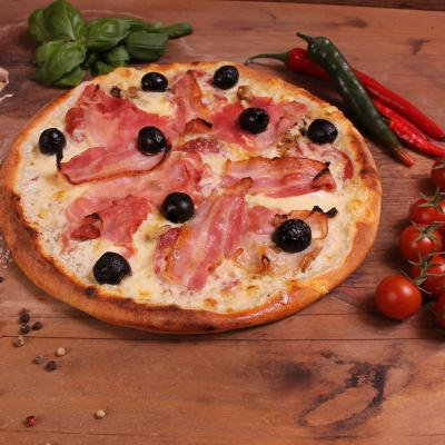 Négyhúsos pizza