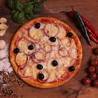 Pulykasonkás pizza