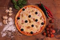 Kagylós pizza
